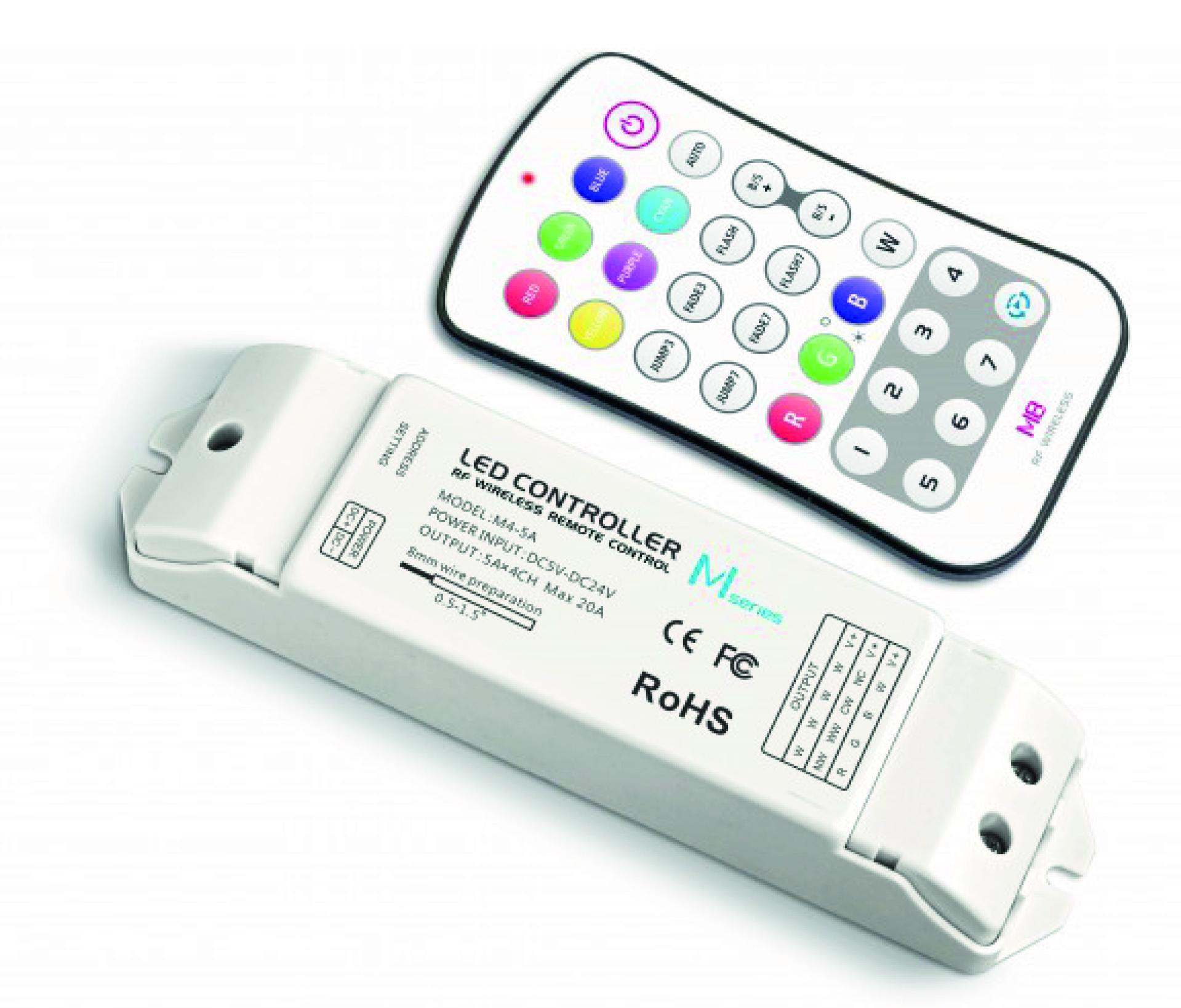 Mini-contrôleur Led - RGBW